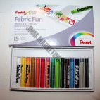 Pentel Fabrifun Crayons