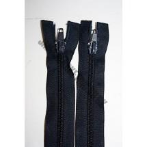 "Open Ended Zips 22"" (56cm) - Navy"
