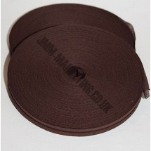"Bias Binding 1/2"" (12mm) - Brown - Roll"