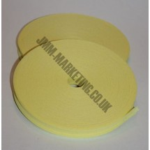 "Bias Binding 1/2"" (12mm) - Yellow - Roll"