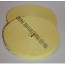 "Bias Binding 1/2"" (12mm) - Pale Yellow - Roll"