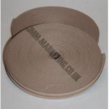 "Bias Binding 1/2"" (12mm) - Beige - Roll"