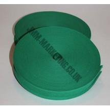 "Bias Binding 1"" (25mm) - Emerald - Roll"