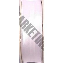 "Satin Bias 3/4"" - White - 25m Roll (501)"