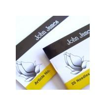 John James Carpet Sharps Size 18