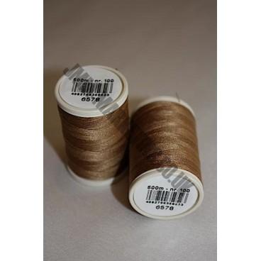 Coats Duet 500m - Brown 6578 (S454)