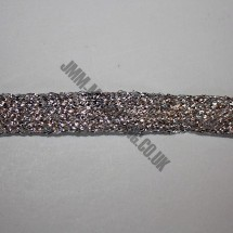 "Braid Ribbon 6mm (1/4"") - Silver"