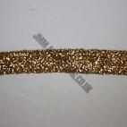 "Braid Ribbon 12mm (1/2"")  - Gold"