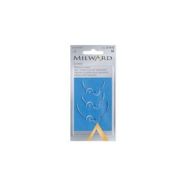 Milwards Curved Upholsterer Needles