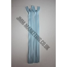 "Optilon Concealed Zips 8"" (20cm) - Baby Blue"