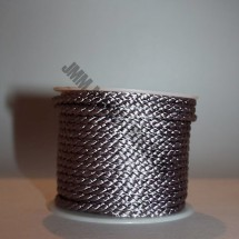 Crepe Cord - Light Grey - Roll Price (406)