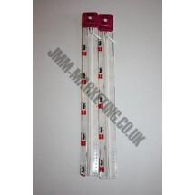 "Optilon Concealed Zips 16"" (41cm) - Neutral"