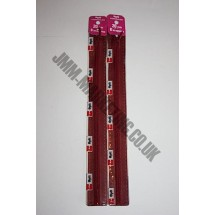 "Optilon Concealed Zips 12"" (30cm) - Burgundy"