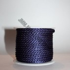 Crepe Cord - Navy - Roll Price (5502)