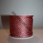 Crepe Cord - Dark Pink - Roll Price (302)