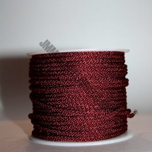 Lacing Cord - Burgundy - Roll Price (338)