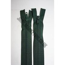 "Open Ended Zips 24"" (61cm) - Bottle Green"