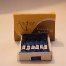 Anchor Cotton a Broder - Blue (132)