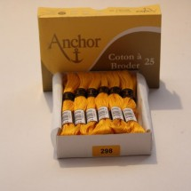 Anchor Cotton a Broder - Yellow (298)