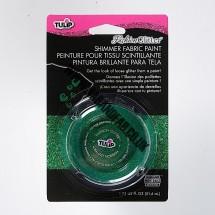 Tulip Glitter/Shimmer Paint - Green