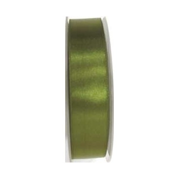 """Ribbon 15mm 5/8"""" - Olive Green (687) - Roll Price"""