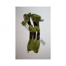 Trebla Embroidery Silks - Green (819)