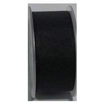 "Seam Binding Tape - 25mm (1"") - Black (700) 25m Roll"