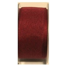 "Seam Binding Tape - 25mm (1"") - Burgundy (148) 25m Roll"