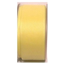 "Seam Binding Tape - 12mm (1/2"") - Lemon (163) 25m Roll"