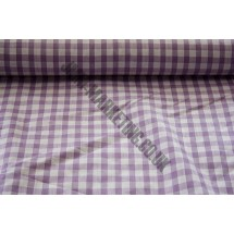 """Polyester Gingham 45""""(1.14m) wide - Purple (1/4"""" Squares)"""