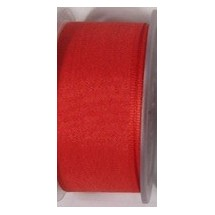 "Seam Binding Tape - 25mm (1"") - Red (145) 25m Roll"