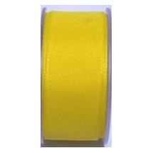"Seam Binding Tape - 25mm (1"") - Yellow (169) 25m Roll"
