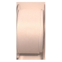 "Seam Binding Tape - 12mm (1/2"") - White (501) 25m Roll"