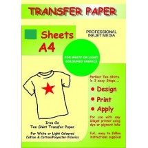 Image Transfer Paper - Light T-Shirts
