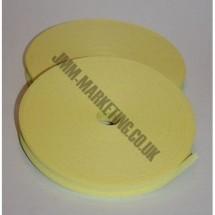"Bias Binding 1"" (25mm) - Yellow - Roll"