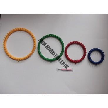 36 Peg Loom Knitting Patterns : Knitting Loom Round 24cm 36 Peg 79221 - JMM Marketing Ltd