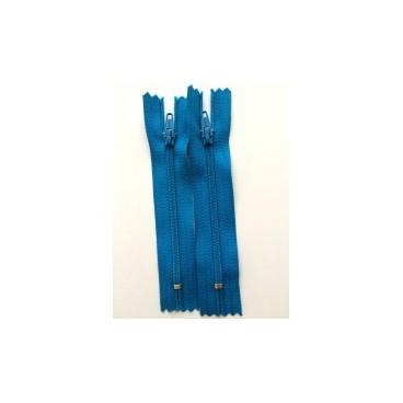 """Nylon Zips 16"""" - Turquoise"""