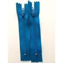 """Nylon Zips 22"""" - Turquoise"""