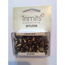Sew on Studs - Brass 8mm