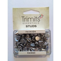Sew on Studs - Gunmetal 8mm