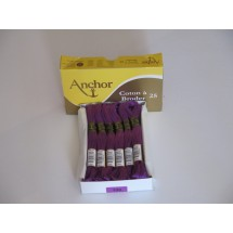 Anchor Cotton a Broder - Purple (100)