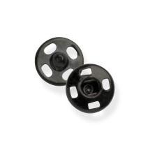 Snap Fasteners - Black - 6mm