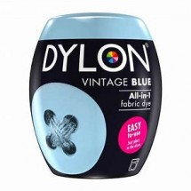 Dylon Machine Dye 350g Vintage Blue. Now with added salt!