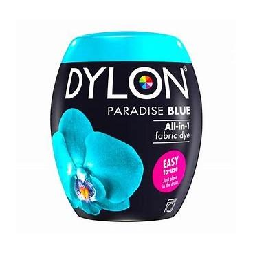 Dylon Machine Dye 350g Paradise Blue. Now with added salt!