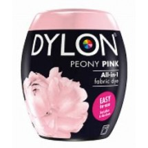 Dylon Machine Dye 350g Peony Pink. Now with added salt!