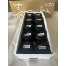 Anchor Perle Cotton - No 8 - Black Only