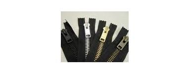 """Metal Zips 7"""" (18cm)"""